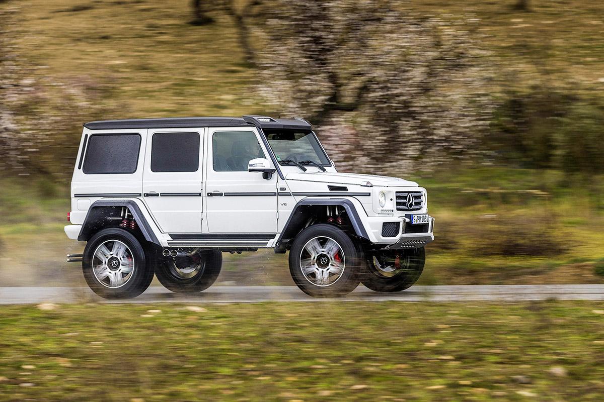 Mercedes benz g 500 4x4 a la serie for La mercedes benz