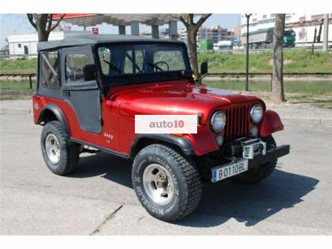 VENDO JEEP CJ-5 LEVI STRAUSS