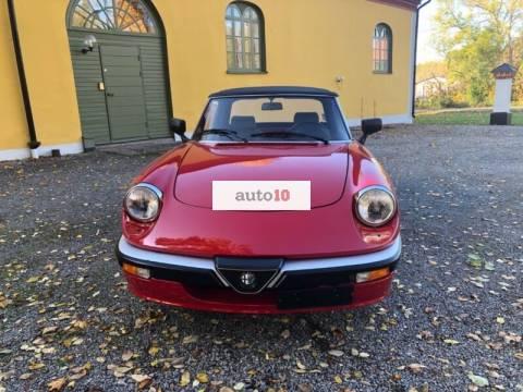 Alfa Romeo Spider 2.0 1987 Quadrifoglio Verde