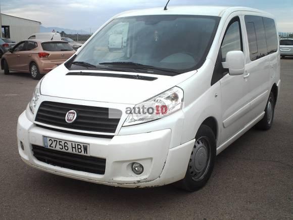 FIAT SCUDO 2.0 MJT 120 CV de 8 plazas.