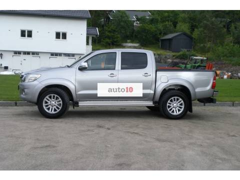Toyota HiLux con KR NETTO