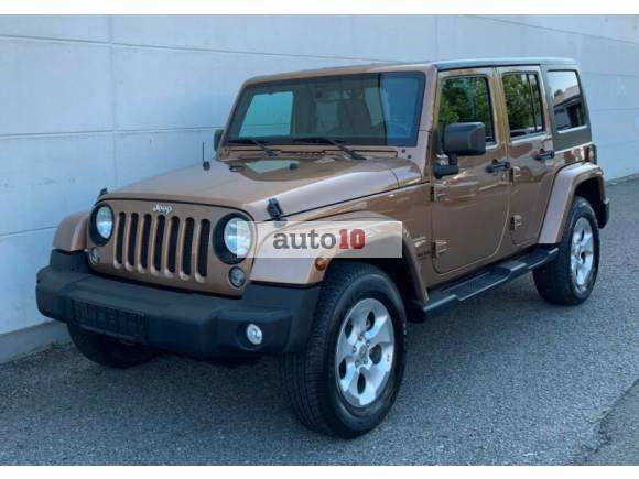 Jeep Wrangler 2.8l CRD Unlimited Sahara