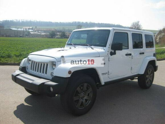 Jeep Wrangler Unlimited Hard-Top 2.8 CRD Anniversary