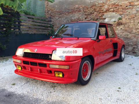 Renault R 5 turbo uno 1981