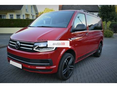 Volkswagen Multivan Bulli Edition Red Black Euro