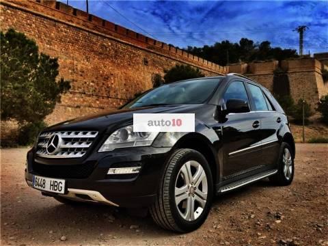 Mercedes-Benz ML 300 CDI BE 4M Edición Limitada Aut.
