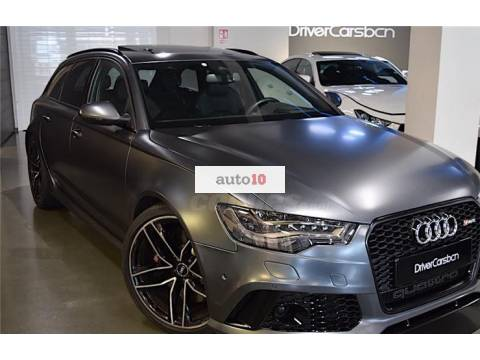 Audi Rs6 de segunda mano