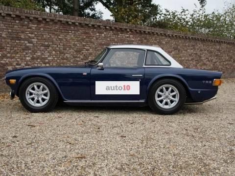 Triumph TR6 rally
