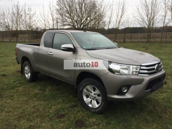 Toyota HiLux 4x4 Single Cab Duty