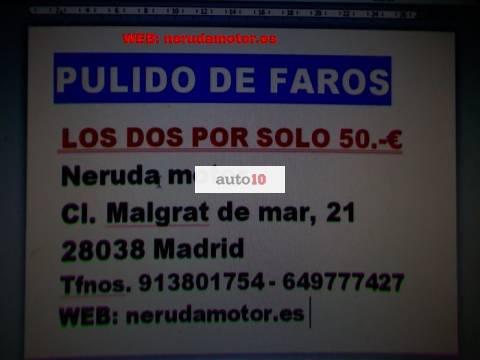 PULIDO DE FAROS - LOS DOS POR SOLO 50.-€