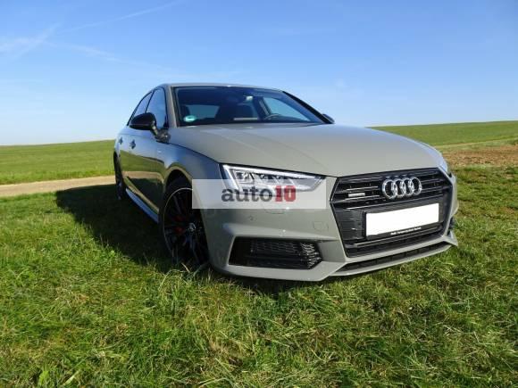 Audi A4 2.0 TDI S tronic quattro sport, s-line Black