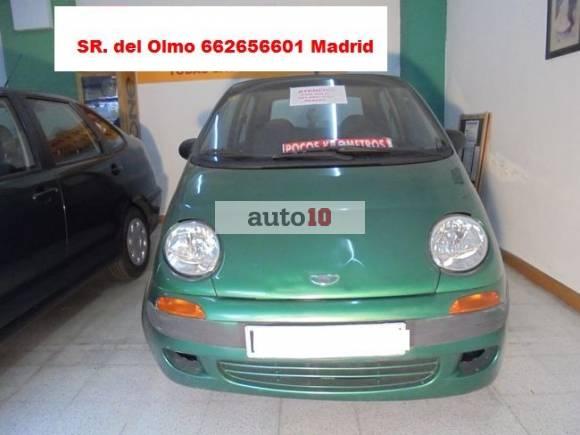 DAEWWO MATIZ 800CC- OFERTADO 1.250€ POR JUBILACION