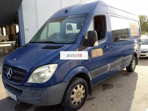 MERCEDES SPRINTER 315 CDI 6 PLAZAS, **AVERIADA**.