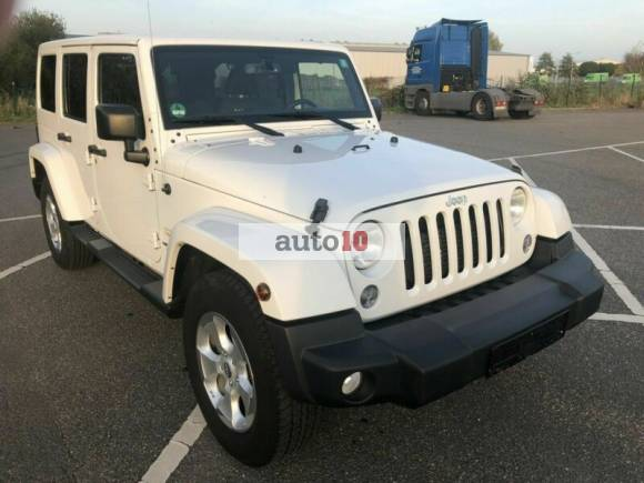 Jeep Wrangler Sahara Unlimited 2.8 CRD Aut