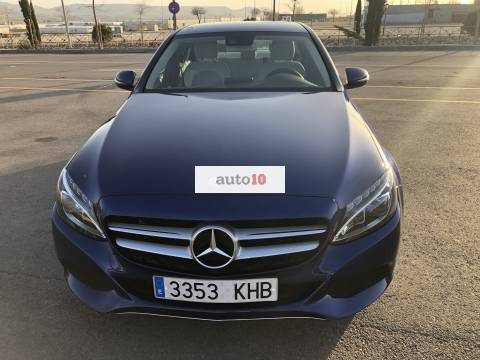 C 220 BlueTec/d Color AZUL BRILLANTE Metalizado
