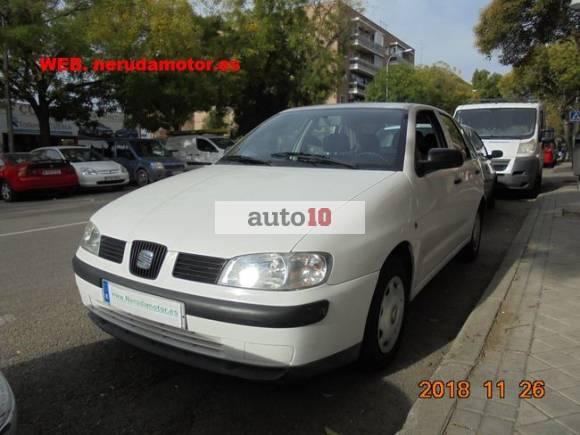 SEAT IBIZA 1.4 GASOLINA 5-P 75-CV DE UNICO DUEÑO Y POCOS KMS COMO NUEVO