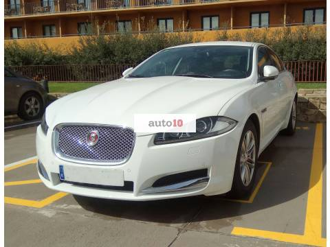 Jaguar xf impecable adaptado gas y freno en volante