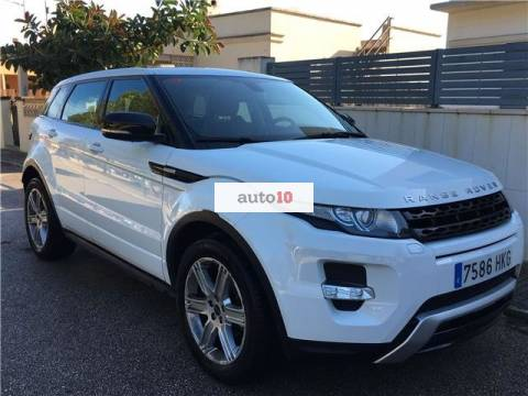 Land Rover Range Rover Evoque 2.0L Si4 Dynamic 4x4 Autobiography
