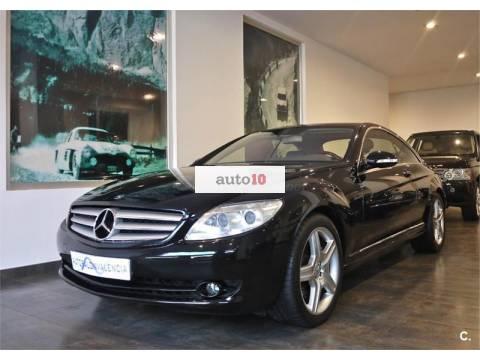 Mercedes benz clase cl de segunda mano en valencia for Mercedes benz valencia
