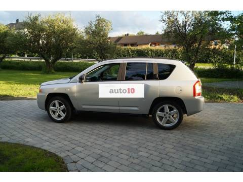 Jeep Compass 2,0 CRD Limited 140HK, 2008, 127 666 km