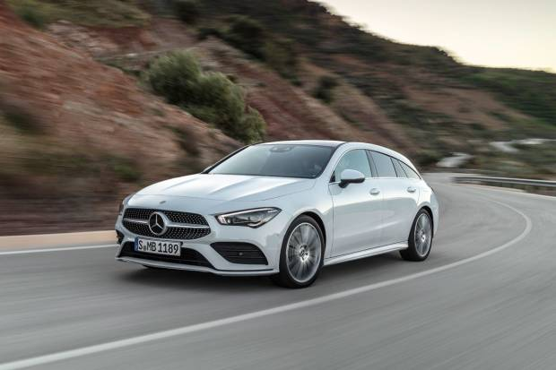 Mercedes Benz CLA 200 d Shooting Brake Aut (150)