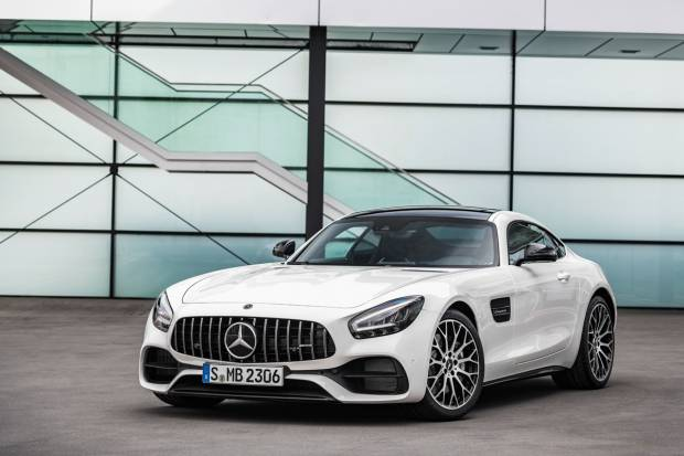 Mercedes Benz GT S Coupe (522)