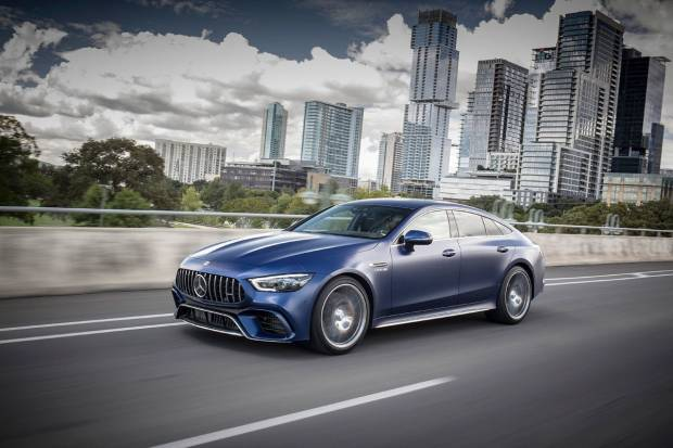 Mercedes Benz AMG-GT 53 4MATIC+ Coupe 4p (585)