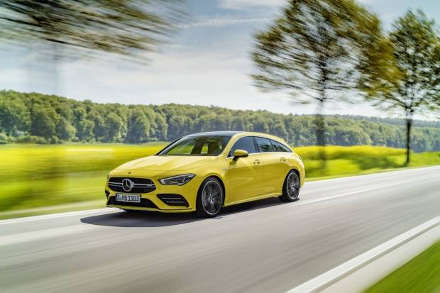 Mercedes Benz CLA AMG 35 Shooting Brake 4Matic+ Aut (306)
