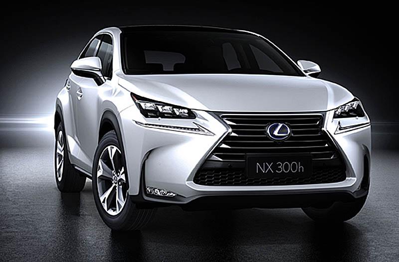 Lexus NX 300h, gama y precios