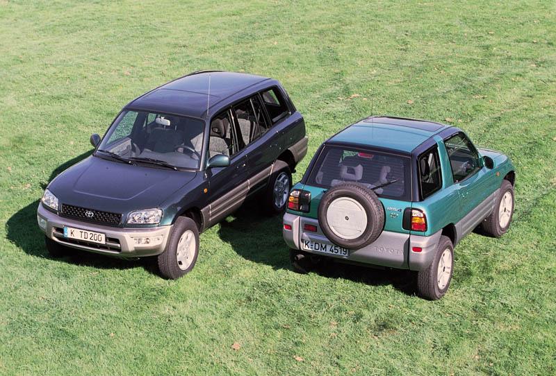 Toyota RAV4, 20 años de vida