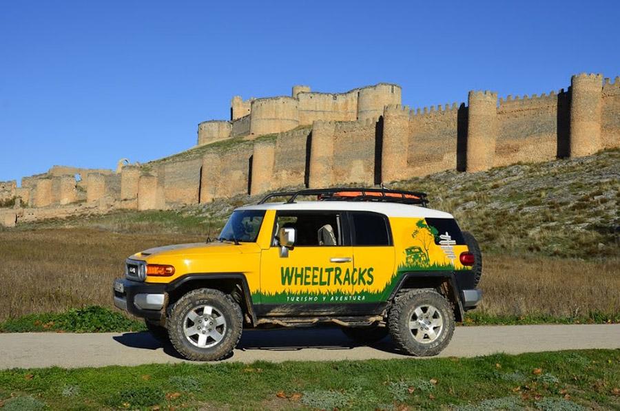 Ruta Castillos y Bodegas (Soria)  16 o 17 enero 2016; organiza Club Wheeltracks4x4