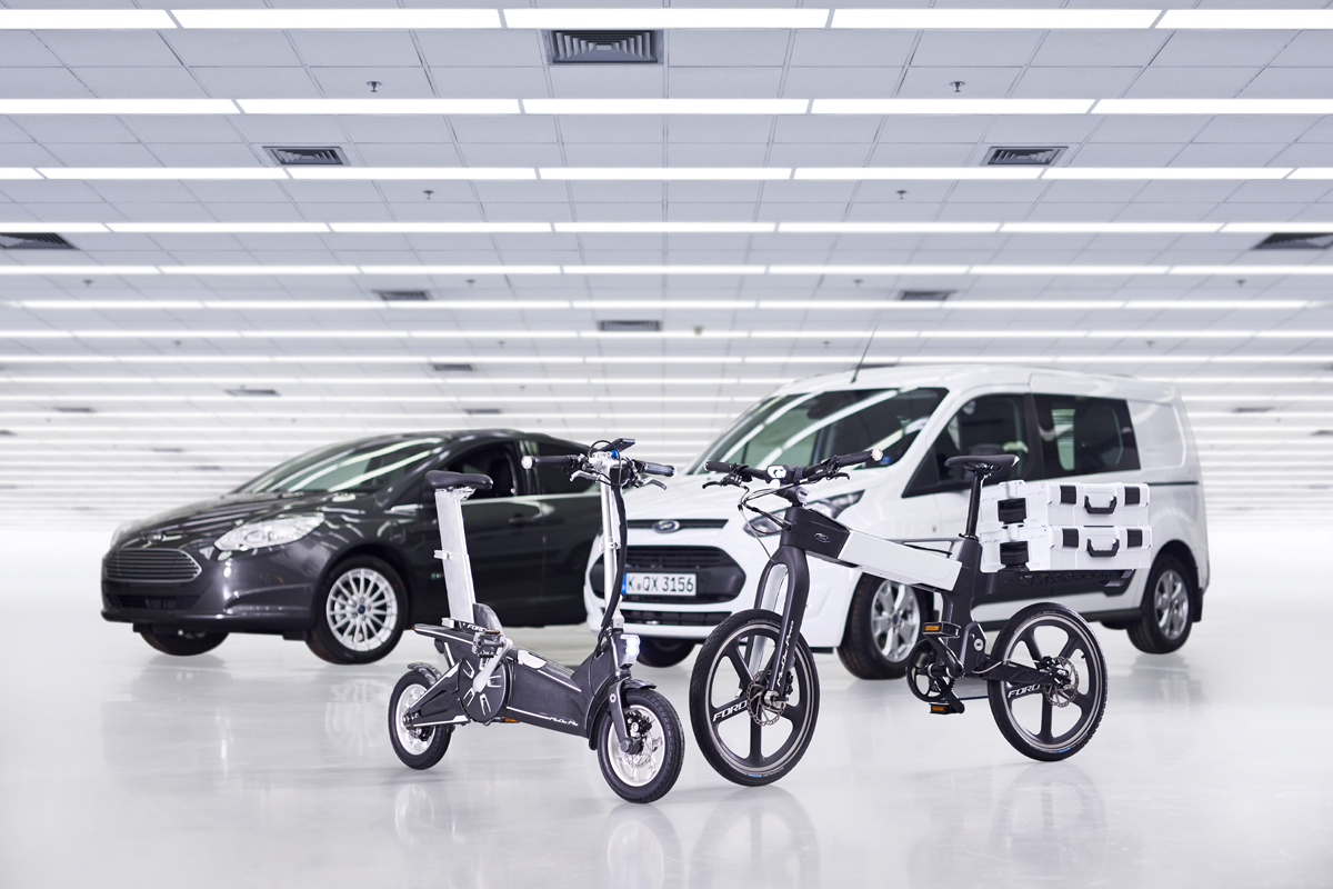 Plan de movilidad inteligente de Ford