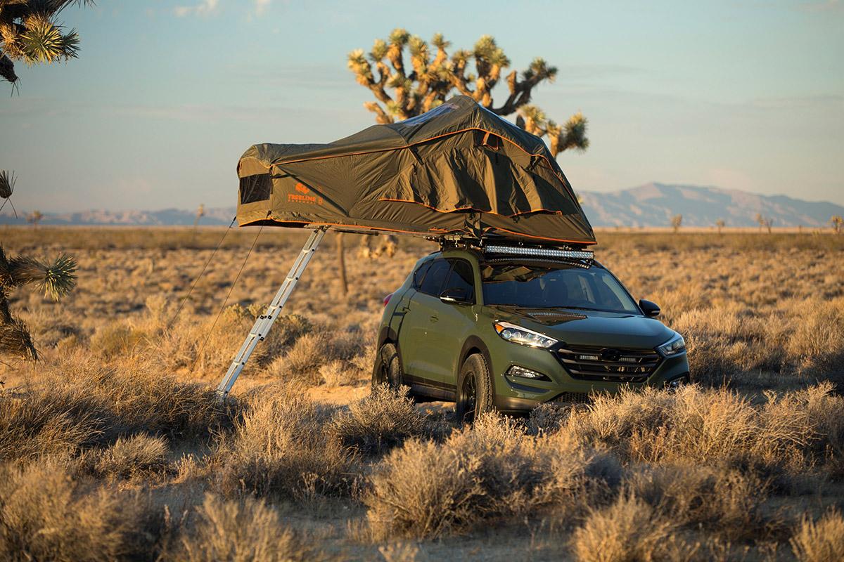 Hyundai Tucson, las preparaciones del Sema Show '15