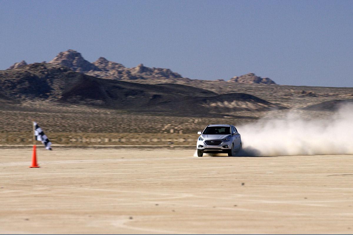 Hyundai ix35 Fuel Cell, de récord