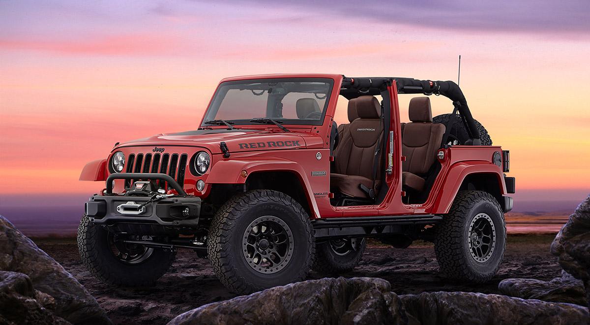 Jeep Wrangler Red Rock