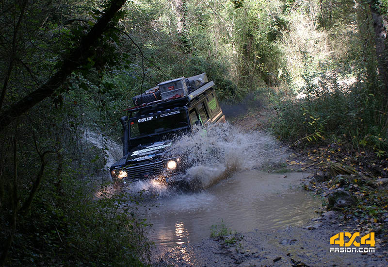 Land Rover Defender 110 Grip Motorsport