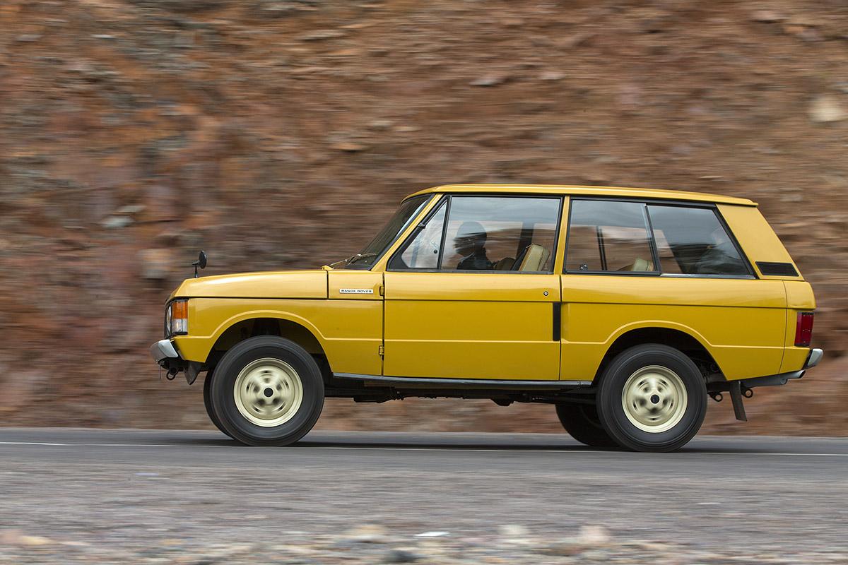 Range Rover, los orígenes de 'The King'