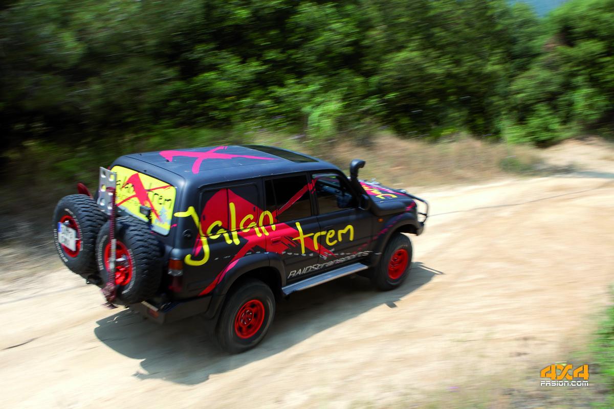 Toyota HDJ 80, de Javier Jacoste