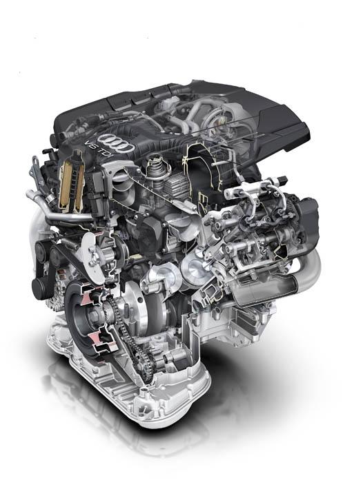Audi, nuevo motor V6 3.0 TDI
