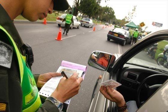 identificar multa conductor