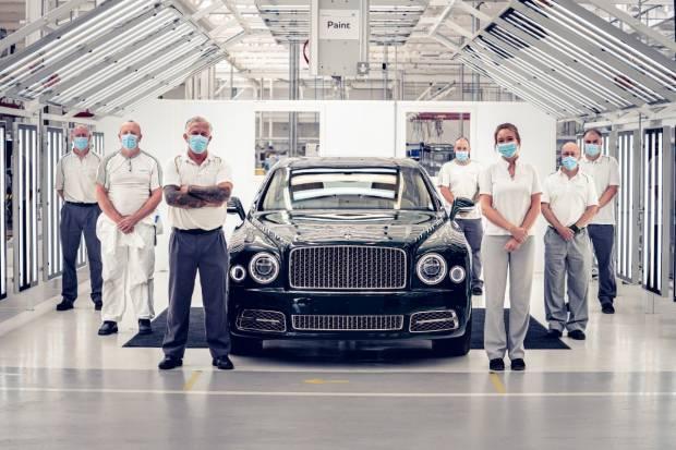 Adiós al Bentley Mulsanne: se despide el buque insignia británica