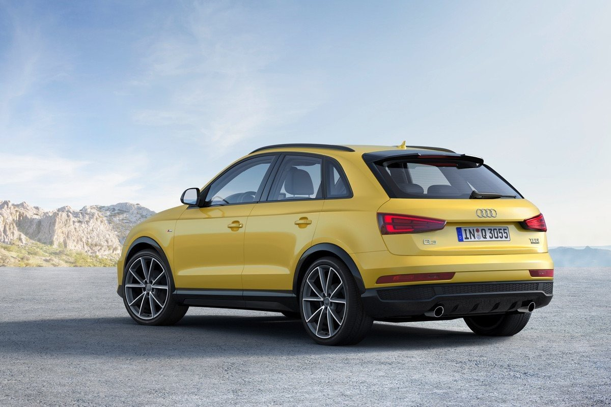 Audi Q3 acabados