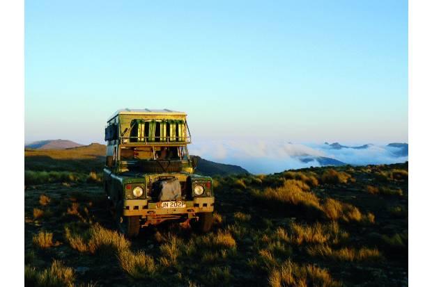 Vuelta al mundo en ocho años en un Land Rover