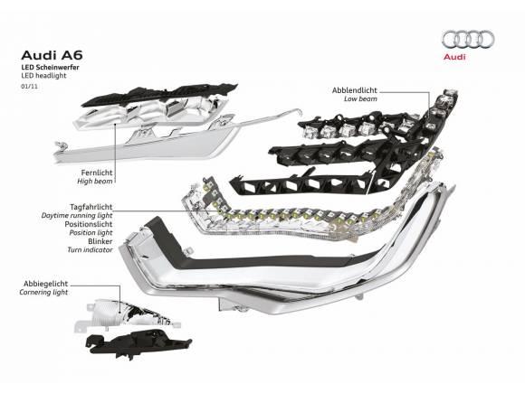 La UE reconoce los faros LED de Audi como innovación ecológica