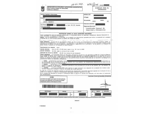 ¿Cómo recurrir una multa del estado de alarma? Plazos de prescripción y trámites