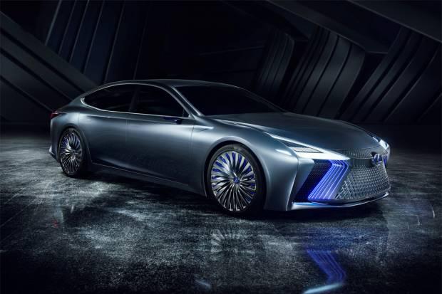 Lexus LS+ Concept, el prototipo autónomo