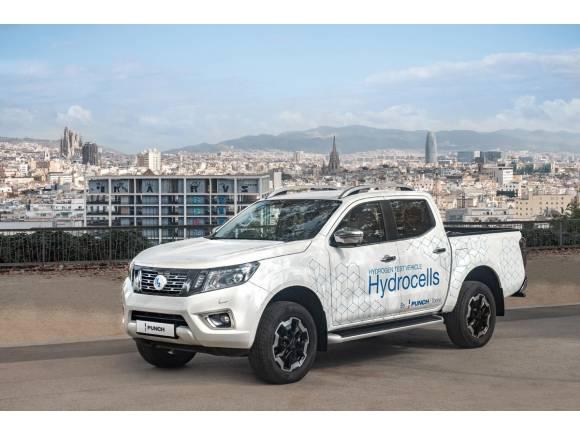 Punch presenta un prototipo con un motor diésel adaptado para funcionar con hidrógeno