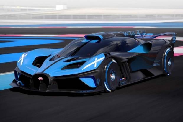 Bugatti Bolide: una bestia de 1.850 CV para dominar los circuitos