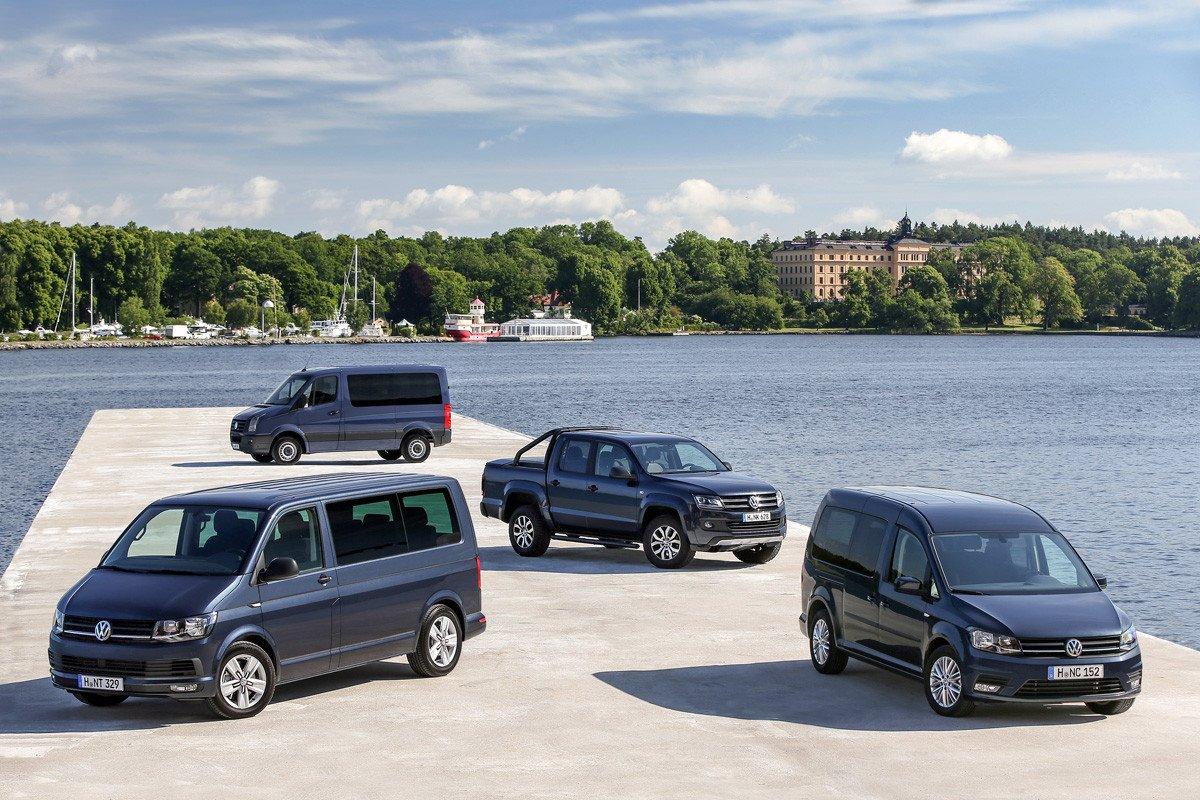 Gama Volkswagen comerciales