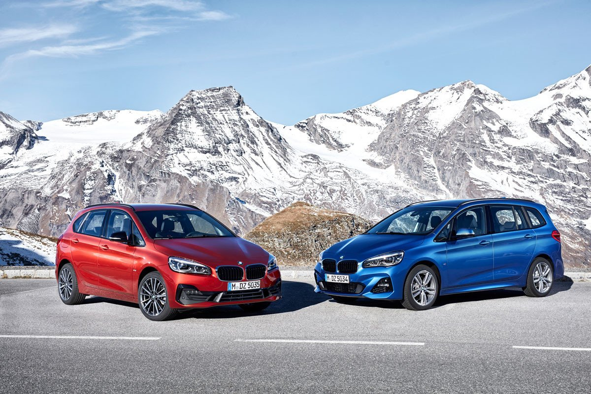 BMW Serie 2 Active Tourer y Grand Tourer